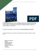 Guía Ciencias Medico Biologicas Propuesta XXI