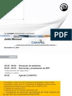 Junta Mensual CLAMAPIQ