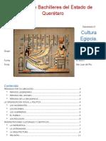 Uso de Tablas de Contenido Egipto