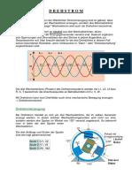 Energie Antriebstechnik Drehstrom