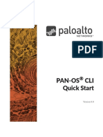 PAN-OS CLI COMMAND pdf | Superuser | Command Line Interface
