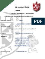 INFORME DE INGENIERÍA ELÉCTRICA