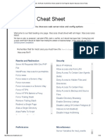 _htaccess Cheat Sheet - All Rules You Will Ever Need, Listed on One Page for Apache