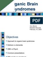 Organic Brain Syndromes Storck Feb16!06!1