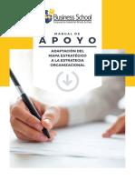 Adaptación del mapa estratégico a la estrategia organizacional