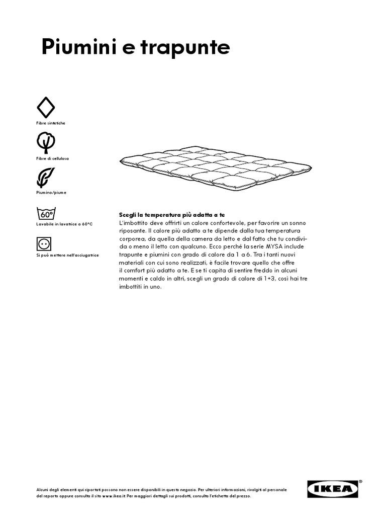 save off 81b22 5000d Ikea Piumini e Trapunte