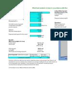 Windload Analysis v Model