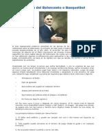 Historia Del Baloncesto o Basquetbol