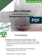 Grupo Titronic - Apresentação Revestimento