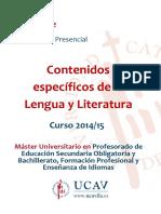 guia docente para lenguaje y literatura