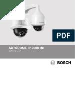 AUTODOME IP 5000 HD Installation Manual EsES 20061782411