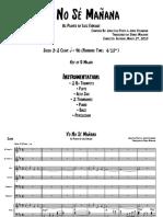 -- Yo No Sé Mañana - Score.pdf
