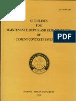 IRC SP-83-2008(PQC reapair and maintenanace) (1).pdf
