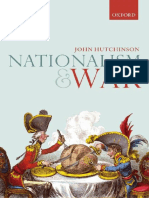 Nationalism and War (February 2017) Hutchinson, John 11351720