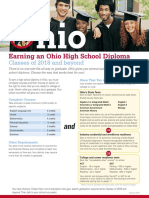 earning an ohio high school diploma - classes of 2018 and beyond