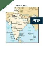 Mapa India Antigua