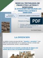 Act. N° 01 Invención, Diseño e Innovación
