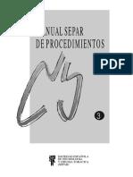 Manual de Procedimientos SEPAR 3