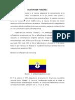 Bandera de La Republica de Venezuela