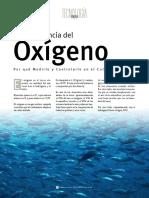 Articulo Importancia Del Oxigeno