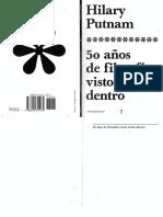 12.2 Putnam, 50 AN_OS DE FILOSOFIA VISTOS DESDE DENTRO.pdf