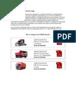 Reglamento Transporte de Carga