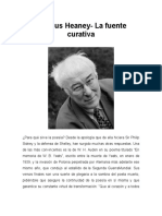 Seamus Heaney - La Fuente Curativa