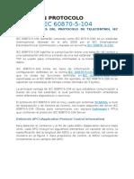 Teoría en Protocolo 60870-5-104