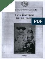 ALBERTO FLORES GALINDO - Los rostros de la plebe.pdf