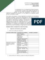 Formato Diagnóstico Institucional y de Aula