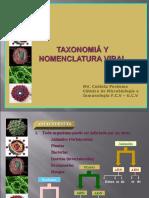 Clase 18. Taxonomía y clasificación viral 2010