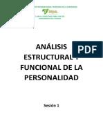 Análisis Estructural y Funcional de La Personalidad