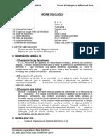 Modelo Informe Stanford Binet