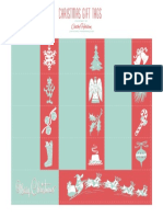 Cathe Holden Christmas Gift Labels