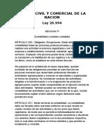 Codigo Civil y Comercial de La Nacion Argentina
