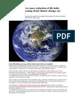Permian Extinction and Methane