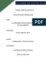 El Paradigma Interaccionista Del Encasillamient1