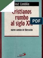 Comblin Jose - Cristianos Rumbo Al Siglo XXI.pdf