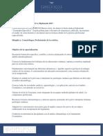 Diplomado 2017 Cosmiatria Especifica Especificos Buenos Aires Pensum3