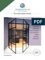 Dominius as Product Catologue Www.dominius.no