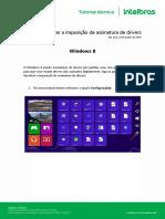 Tutorial_Desativar a Imposição de Assinatura de Driver Win8