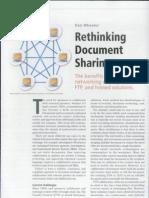 Rethinking Document Sharing