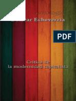 - Bolívar Echeverria - Crítica a la Modernidad Capitalista.pdf