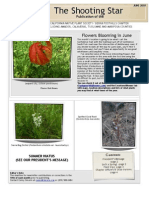 April 2010 Shooting Star, Sierra Foothills Native Plant Society