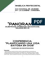 APUNTE PANORAMA - Planificando una vida exitosa en Dios.docx