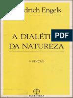 A Dialética Da Natureza