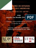 02 Seminário de Estudos Clássicos e Medievais - Jacyntho