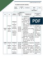 8ºciencias Naturales Planificacion - 8 Basico(1)