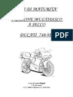 Tesina LucaTrifoglio Frizione Ducati PDF
