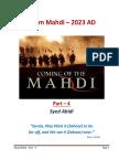 The Arrival of Imam Mahdi